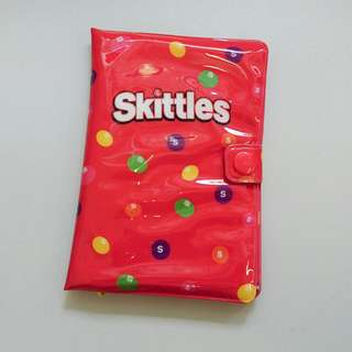 Skittles x bossini Passport Holder 彩虹糖 護照 證件套