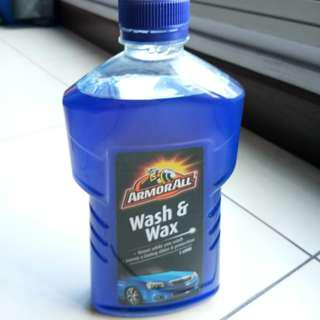 Brand new Armor all wash and wax shampoo