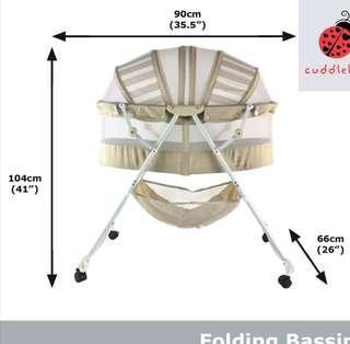 Folding bassinet
