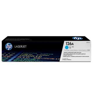 🚚 HP 126A Cyan/Yellow/Magenta Original LaserJet Toner Cartridge (CE311A/CE312A/CE313A)