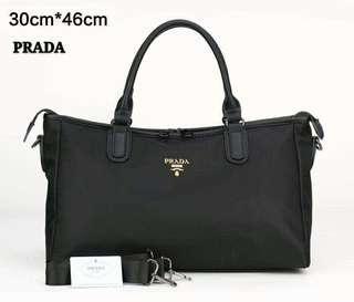 Prada Travel Bag Black Color