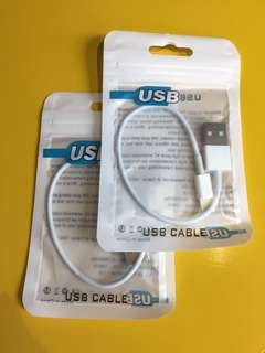 USB charge cable $15each