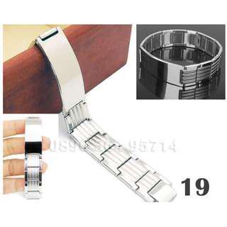 Gelang Plat Arloji Pria/Cowok Keren/Modis/Fashion/Mewah Titanium Stainless Steel - 019
