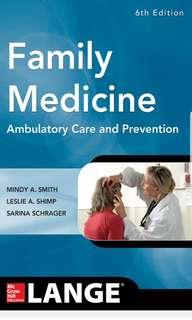 Family Medicine Ambulatory Care and Prevention – 6th edition PDF Copy