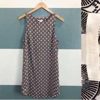H&M tile pattern sun dress