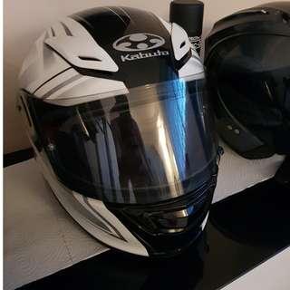 KABUTO Aeroblade 3 Linea edition White L size OGK Helmet