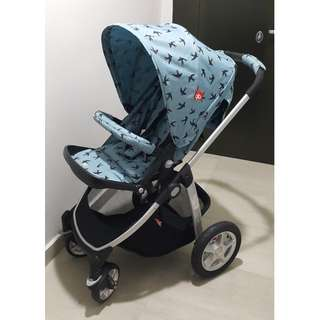Two-Way Foldable & High Landscape Baby Stroller