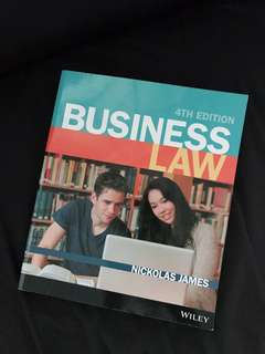 RMIT commercial law 4th edition textbook
