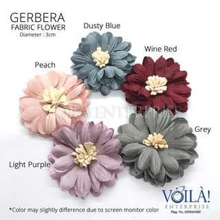 🚚 Fabric Flower - Gerbera