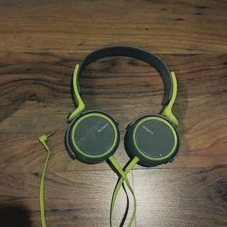 Sony Headphone MDR-XB400 green