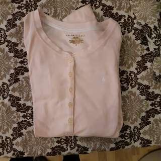 Original ralph lauren baby pink long sleeves