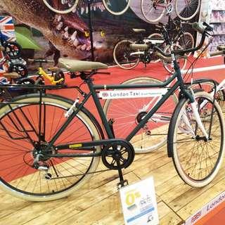 Sepeda london taxi crb bicycle  700m bisa dicicil tanpa kartu kredit