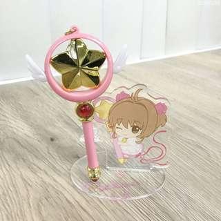 PREORDER: Cardcaptor Sakura: Clear Card - Sakura's Strap Pen B (Star Wand)
