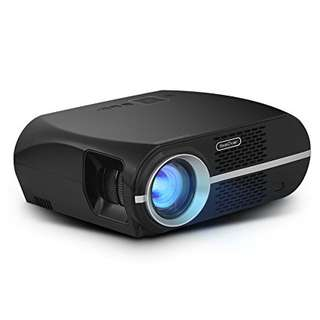 100% 正貨 全新 GP100 Video Projector,LCD 1080P Full-HD Level Image Quality,3500 LMS LED Light Output Brightness, WXGA Resolution, In Your Living Room Bedroom Meet All Entertainment,Games,Video Viewing M-OC050B