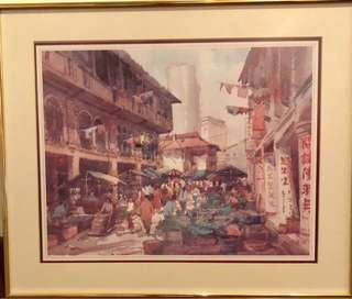 Chinatown - print by Tong Chin Sye