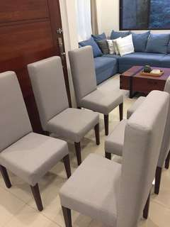 Elegant high back dinning chairs