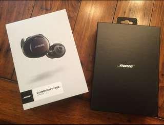 Bose soundsport 藍牙耳機(全新)