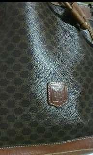 CELINE Monogram Noe Hobo Drawstring Bag