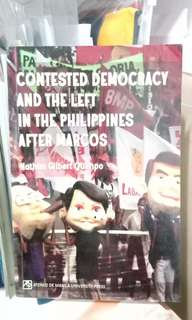 Contested Democracy and the Left in the Philippines After Marcos