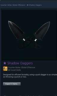 CSGO knife - SHADOW DAGGER