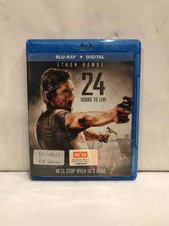 24 HOURS TO LIVE BLU RAY