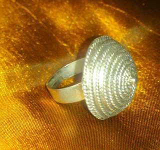 Silver Ring - Circle layers
