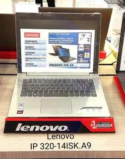 Bunga 0% Lenovo IP320-14ISK.A9 Kredit.Tanpa Kartu Kredit