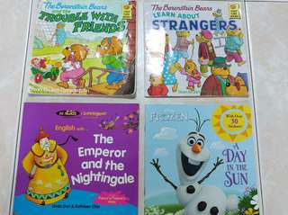 Softcover books for pre-schoolers