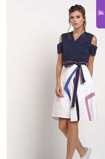 Plains and Prints Riggs Dress