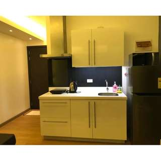 For Rent 1 Bedroom with Balcony Fully Furnished Condo at Acqua Private Residences in Mandaluyong Makati City