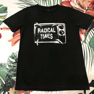 👾💙👾-Quiksilver Radical time 短tee