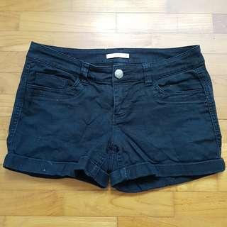 🚚 Black Midwaist Shorts