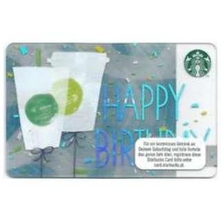 🆕Starbucks® 🇲🇾 2018 Happy Birthday Card
