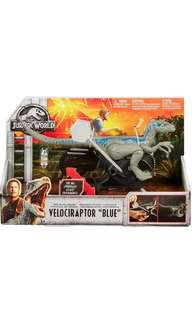 "PRE-ORDER: Jurassic World Rip-Run Dinos Velociraptor ""Blue"""
