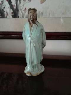 Porcelain 诸葛亮孔明 18cm