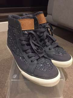 MLB Sparkly Blue High Tops