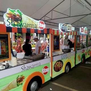 food cart bus.