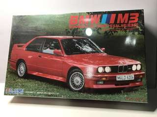 1/24 Fujimi BMW M3 模型