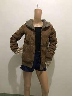 Size M Winter Jacket Brown