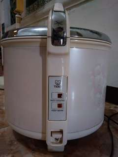 Rice cooker Merek TIGER Made In Japan, 2.7lt, kondisi 90%, Cuma 1x Pakai.