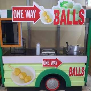 food cart buss.