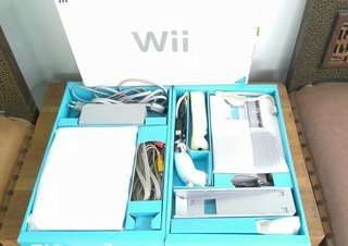 JUAL (Second) Nintendo Wii Soft Mode+HDD (isi 250 Game), MURAH!!