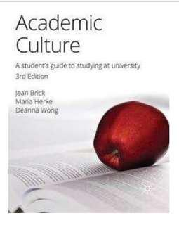 Academic culture uni textbook