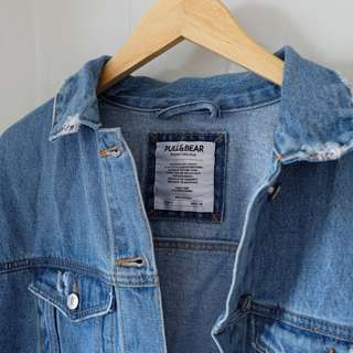 Pull and bear denim jacket