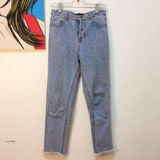 🚚 VII&CO 直筒牛仔褲