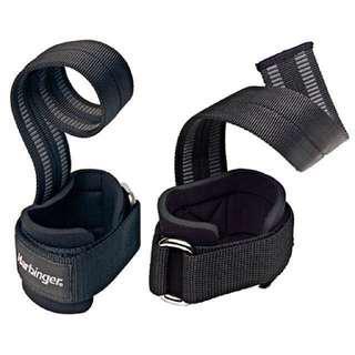 "🚚 Big Grip Pro Lifting Straps 11.5"" (1 pair) - Harbinger"
