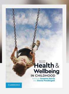 Health and well-being textbook