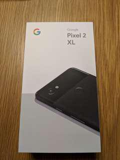 Google Pixel 2XL Black (Local set from Singtel)