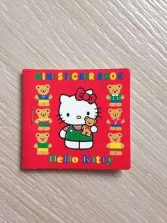 Hello Kitty mini sticker book
