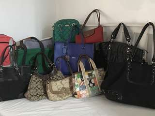 Preloved bags collection